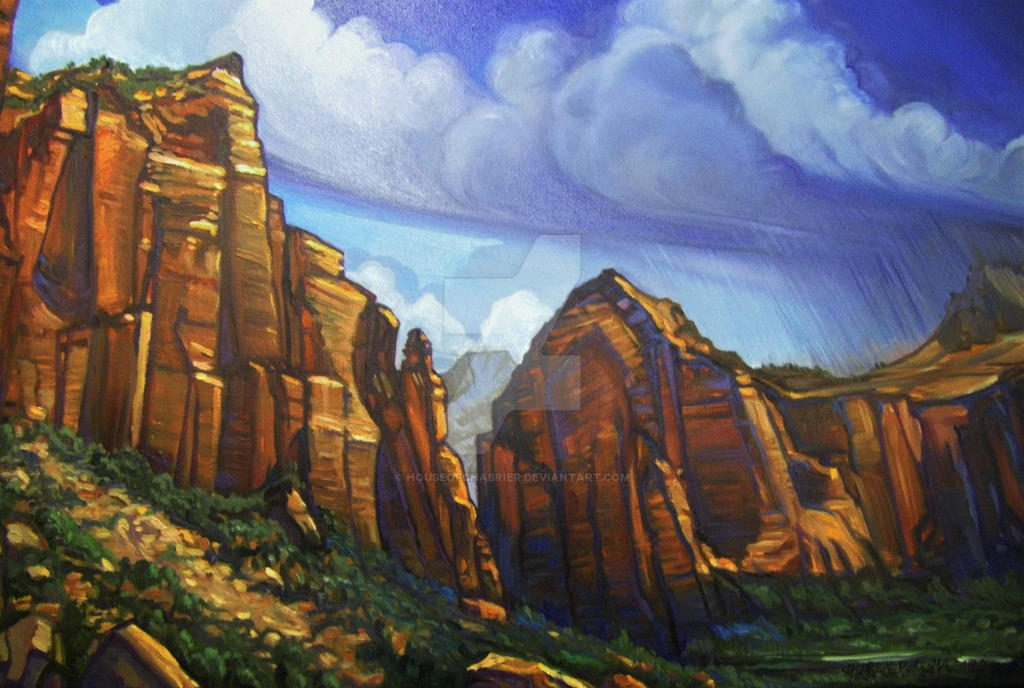 Zion National Park by HouseofChabrier