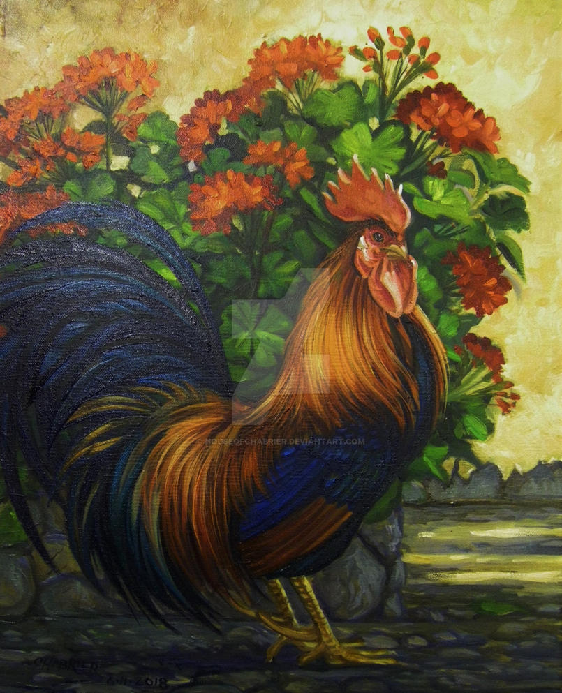 Ruling Rooster by HouseofChabrier