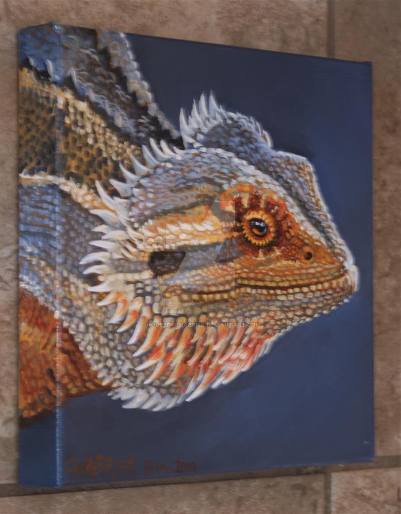 Arizona Lizard Side Panel by HouseofChabrier
