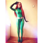 Sam Totally Spies latex cosplay