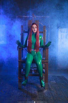 Totally Spies Sam Latex Cosplay
