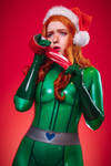 Totally Spies Sam Latex Tape Gag Cosplay