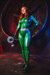 Totally Spies Sam Latex Cosplay (New Pack!)