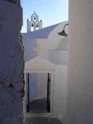 Santorinian Backstreet by paddypaws