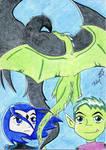 Bibi dragon - Raven