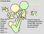 Sonic Friends Base by xXLisanneTheCatXx