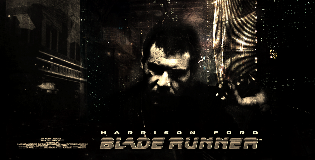 Blade Runner Movie Poster by Harrad93