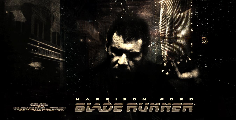 Blade Runner Movie Poster by Harrad93