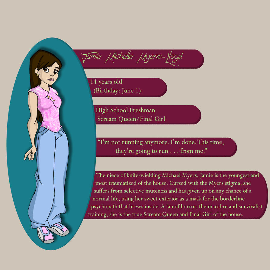 Jamie Lloyd, Final Girl - Profile by guardian921