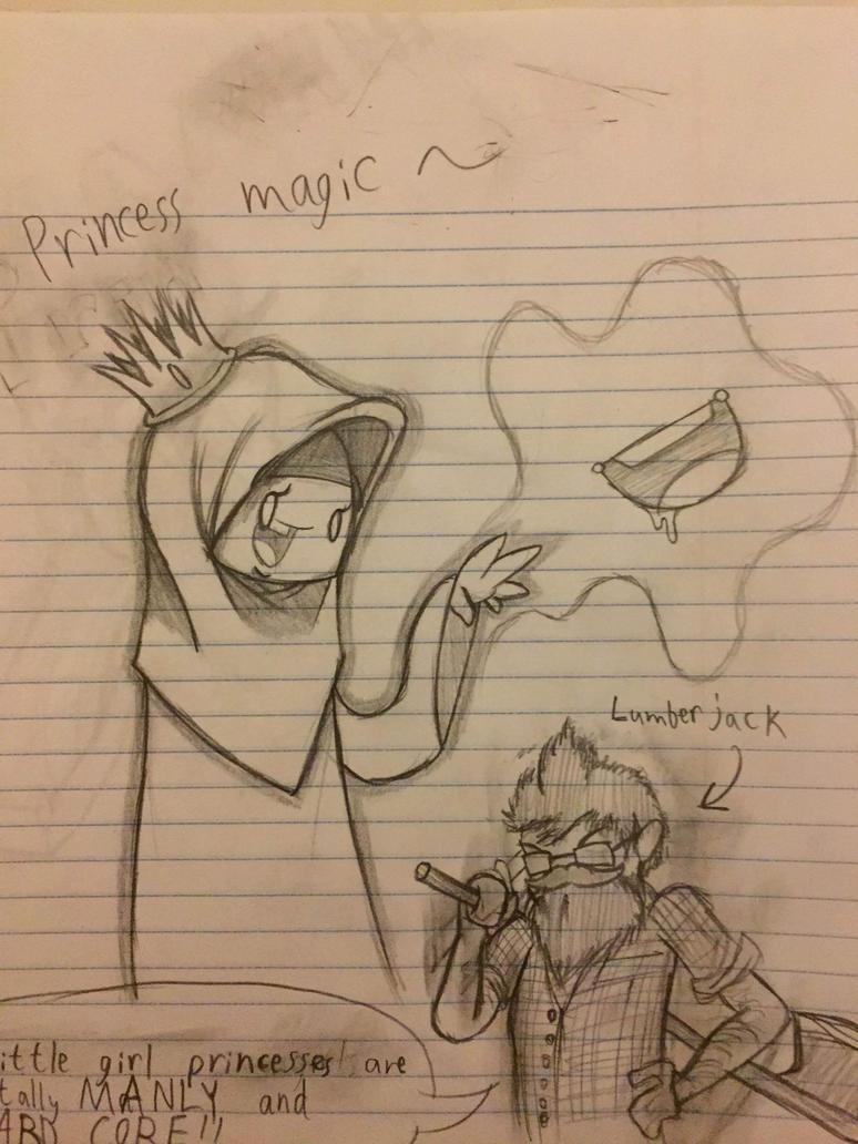 Princess Magic by captain-pie