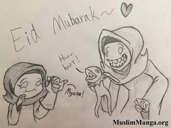 Eid Mubarak (Contest submission) by captain-pie