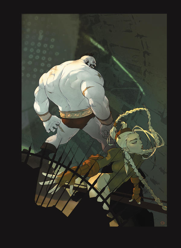 Street Fighter by ayanimeya