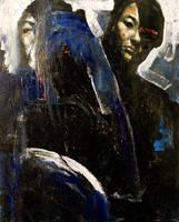 untitled blue by ayanimeya
