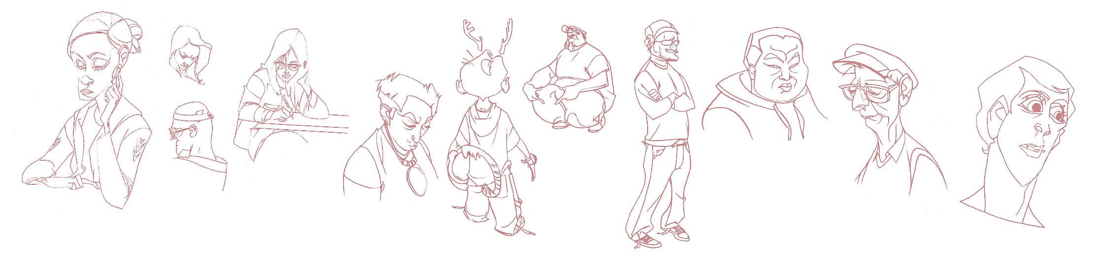 Figures by ayanimeya