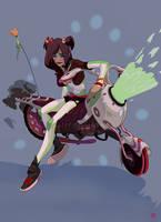 Grape Harley by ayanimeya