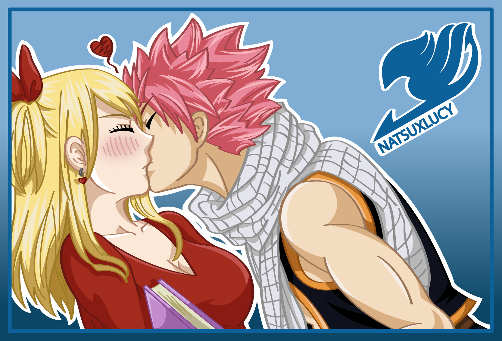NaLu by sombraescarlata on DeviantArt