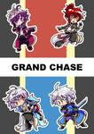 Grand Chase Sticker Sheet 1 by ChibiYouko