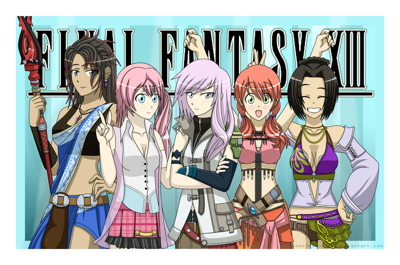 Final Fantasy XIII by Sleepless-Piro