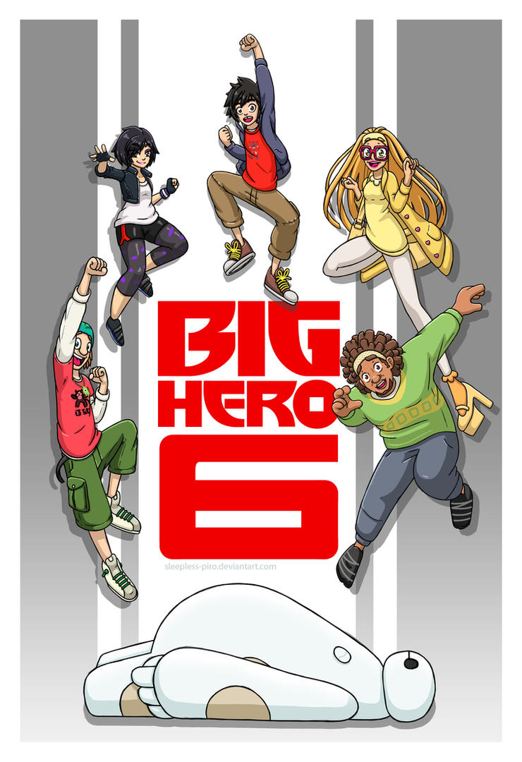 BH6 - We could be heroes! by Sleepless-Piro