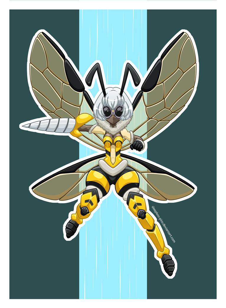 OC - Wasp by Sleepless-Piro