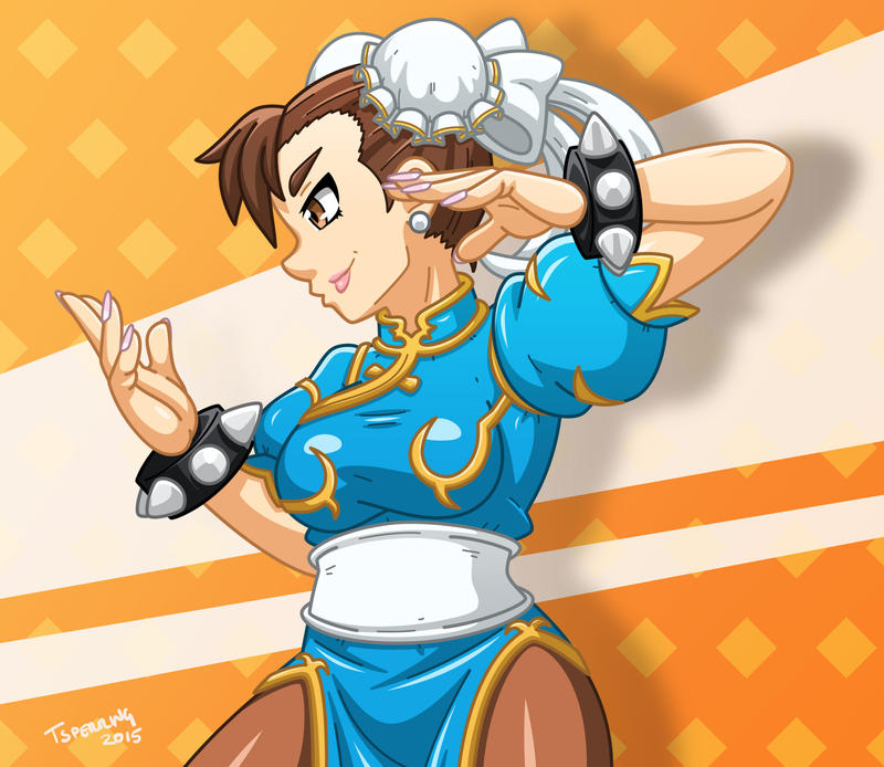 Chun-Li by Sleepless-Piro