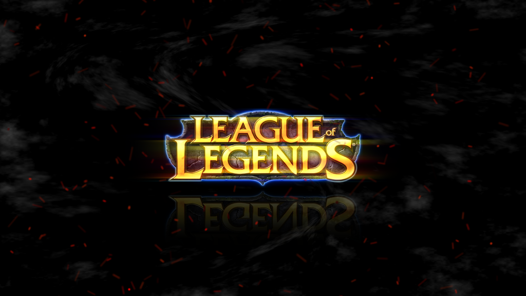 Lol Logo Wallpaper League of Legends Logo l