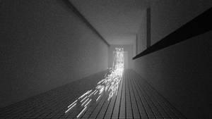 Sparks In Corridor