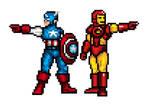 Captain America and Iron Man JUS Sprite