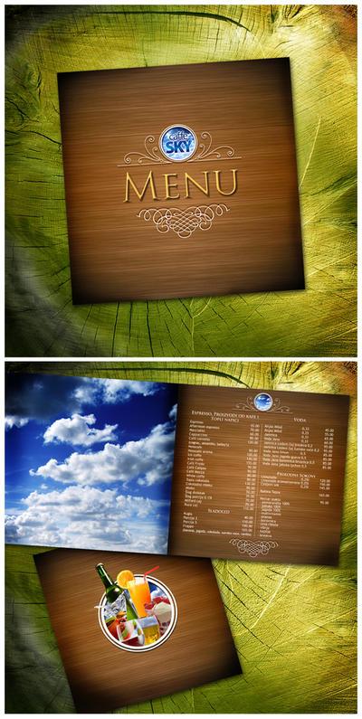 cafe SKY menu