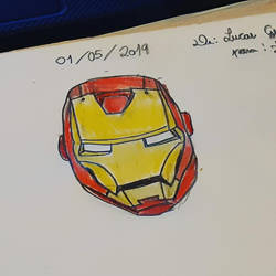 Iron Man by luxstrong
