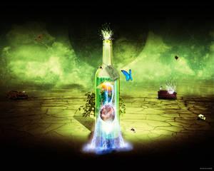bottle 01  earth
