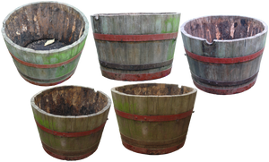 flower barrel png