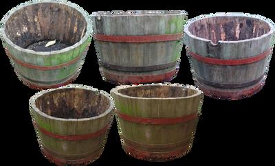 flower barrel png