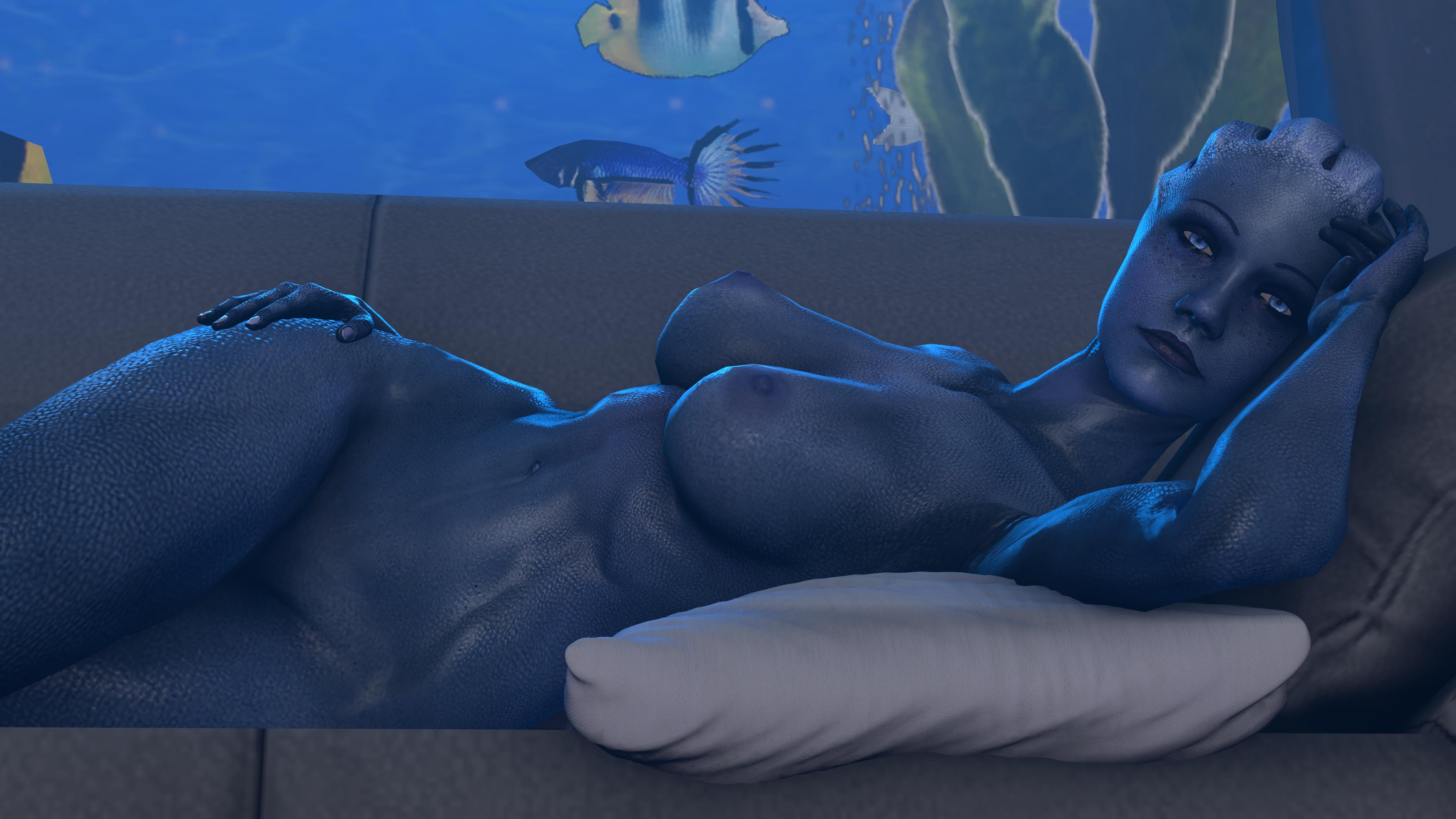 Mass effect nude art nackt pics