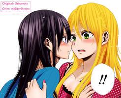 Mei and Yuzu by MidoriYukiko