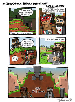 Mindcrack Beats Minecraft Guest Comic
