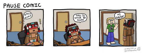 Pause comic by terra-wah