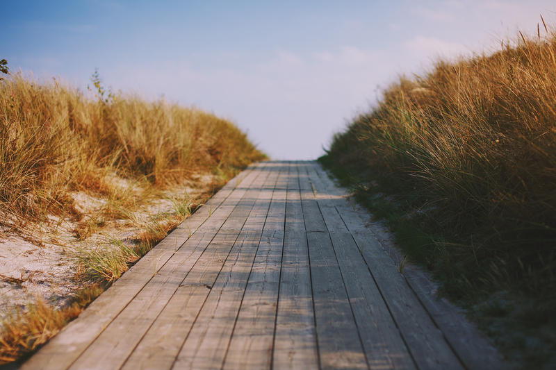 beach walk. by Perspeqtive
