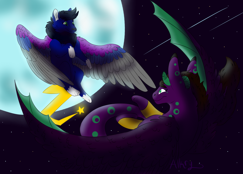 Midnight Flight by AlkryEarth17