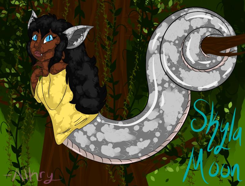 CM: Skyla Moon by AlkryEarth17
