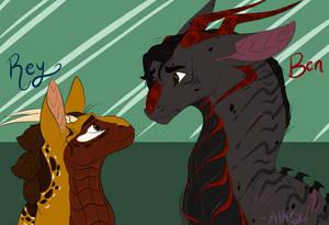 Reylo Dragons 2