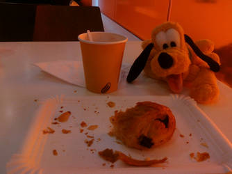 Breakfast With Pluto by Miheer