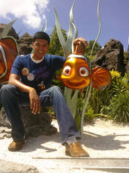 Nemo and some fish by Miheer