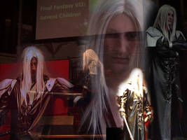 Sephiroth, with majesty
