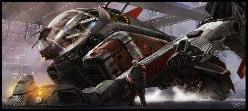 Courier 001 by sekido54