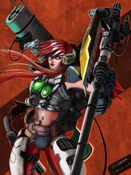 Girl+Gun+Cannon 001 by sekido54
