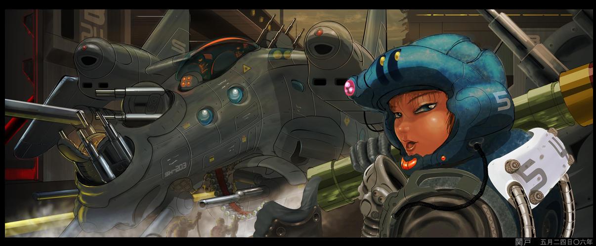 Ravenstriker Fast Attack Craft by sekido54