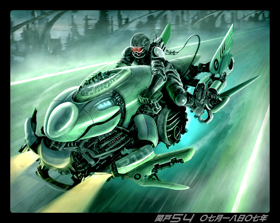 Green Scorpion by sekido54