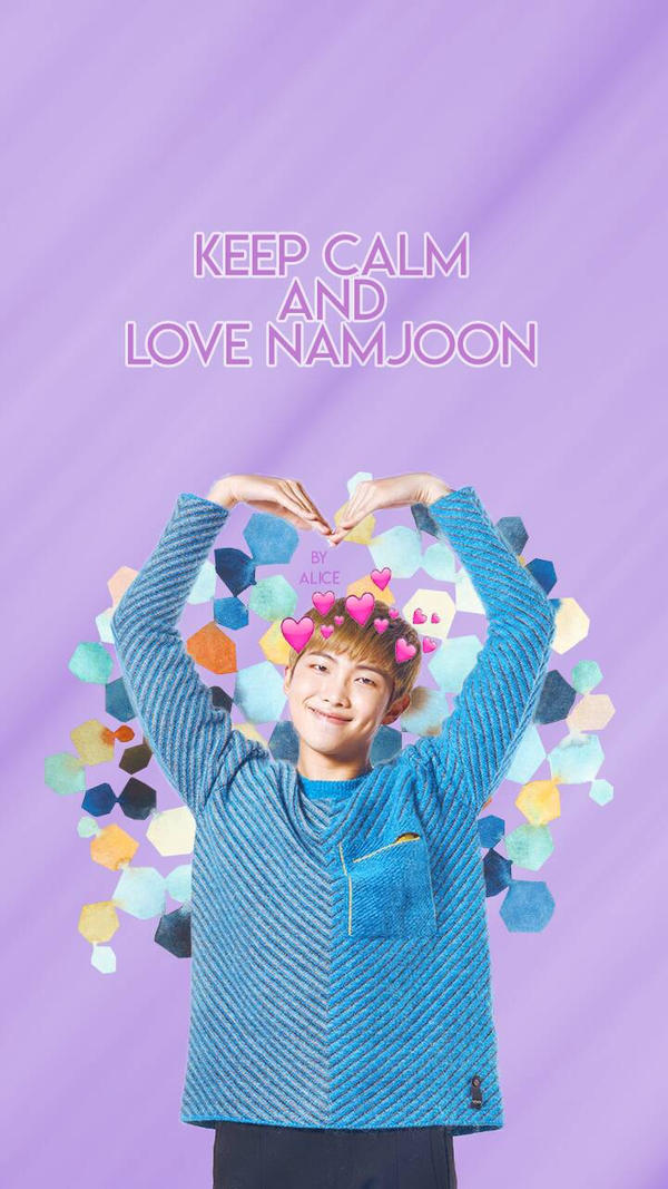 bts wallpaper series  kim namjoon  1 by ae lice dbu47wd