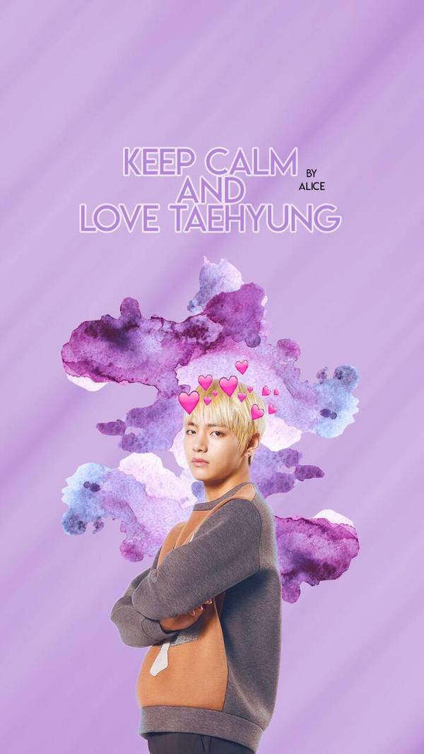 bts wallpaper series  taehyung 1 by ae lice dbu49jo